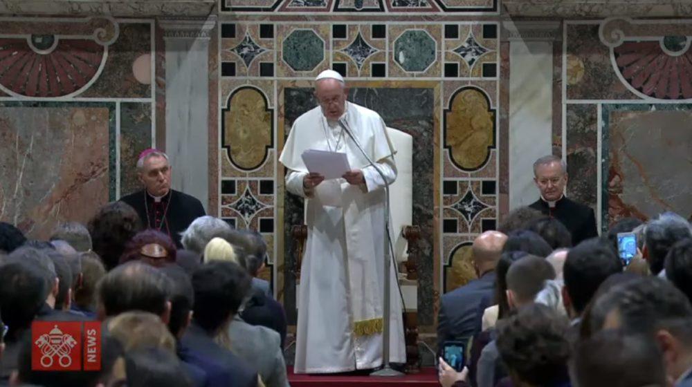教宗接見司法界人士:真正的司法建基於對話而非敵對文化