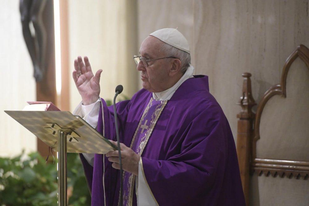 教宗:尋求上主的寬恕,領受安慰與修和之恩