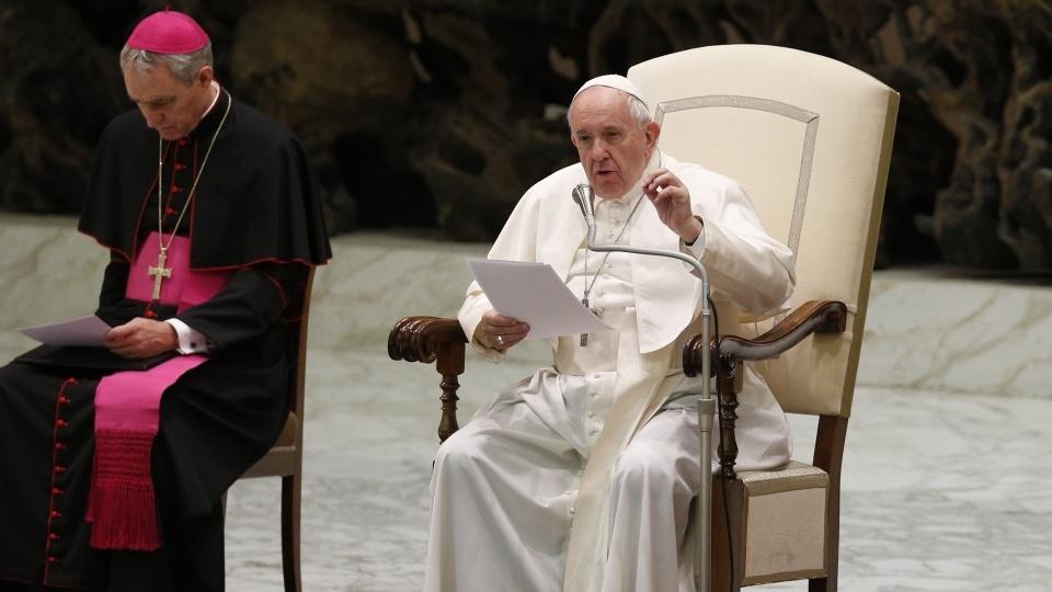 教宗公開接見:今日有些基督徒遭受「白手套」的迫害
