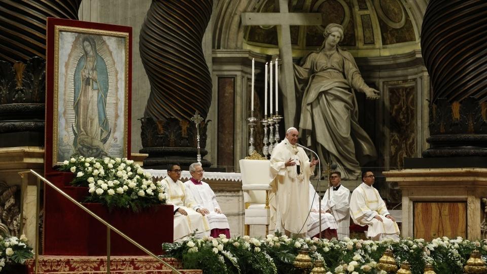 教宗方濟各:聖母瑪利亞的特質是女性、母親、混血兒