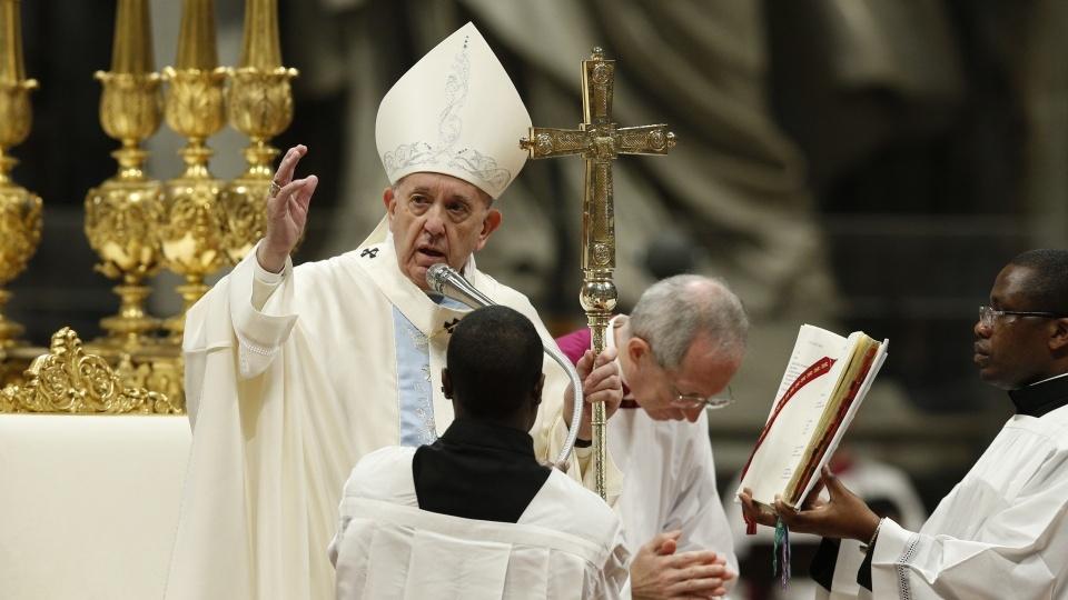 教宗主持2020年1月1日天主之母節彌撒