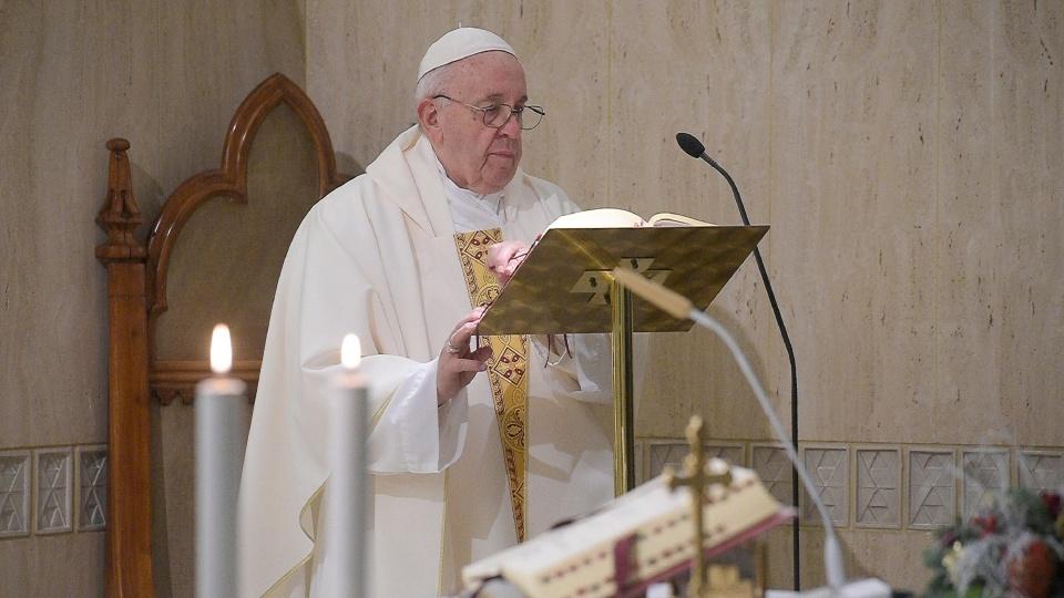 教宗:抵拒將我們帶向腐敗的世界之神