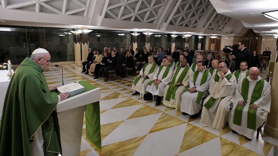 教宗:權威不是命令,而是言行一致和見證