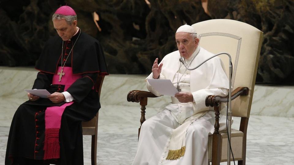 教宗公開接見:即使迫害和誤解,教會仍孜孜不倦地款待他人