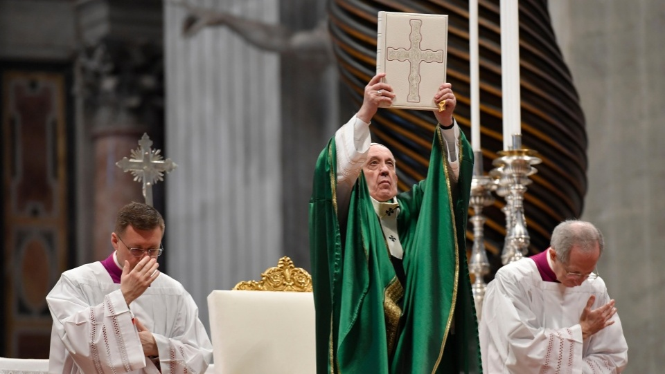 教宗主持首屆聖言主日彌撒
