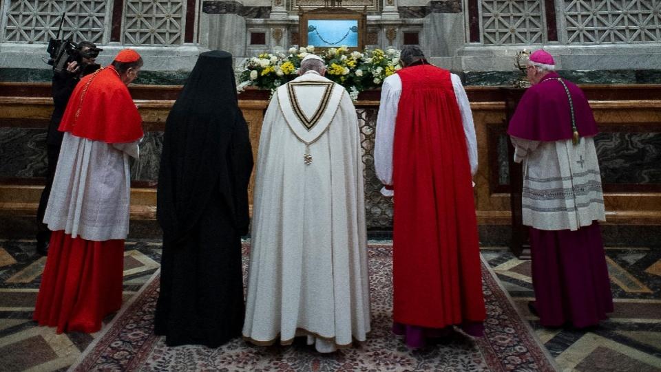 教宗主持2020年基督徒合一祈禱週晚禱