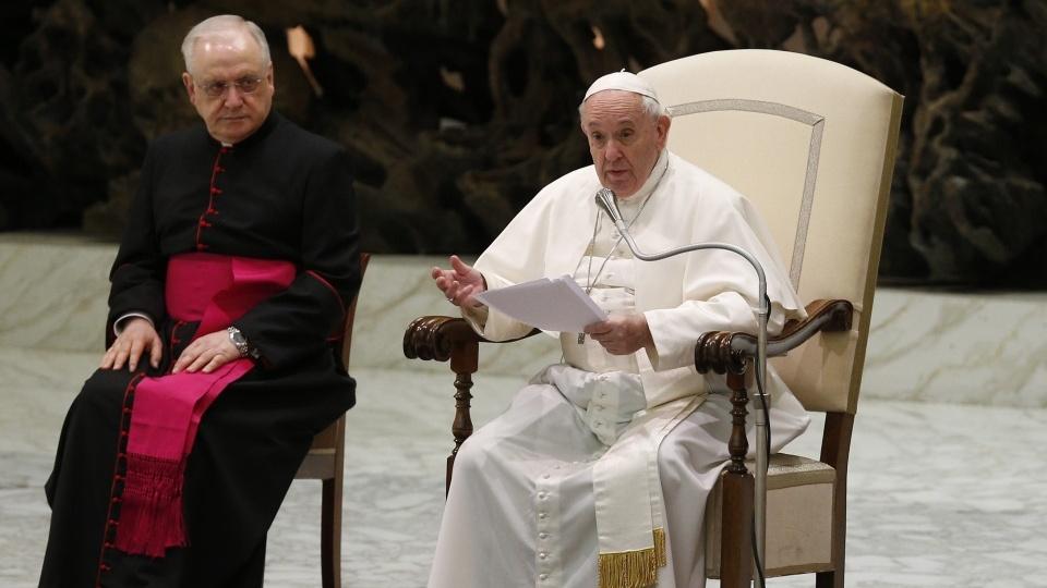 教宗公開接見:誰握有謙卑的權力,他就是自由的人