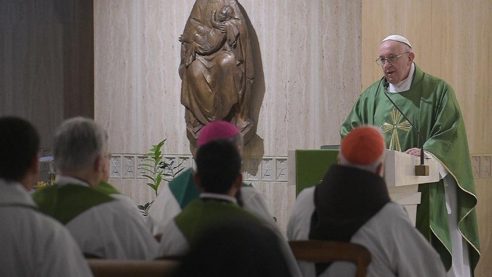 教宗:天主要求我們有一顆開放和充滿憐憫的心