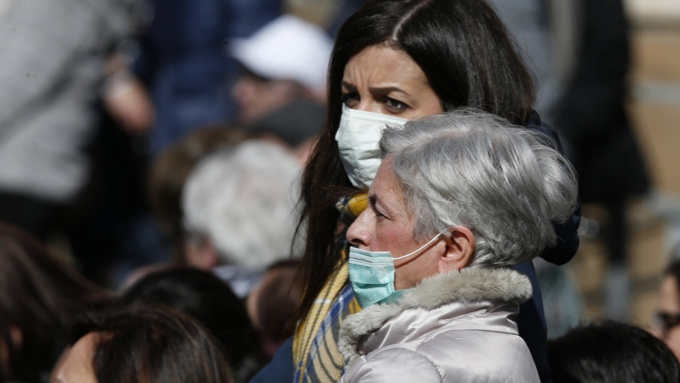 新冠病毒疫情蔓延,梵蒂岡推遲若干在密閉空間舉行的活動