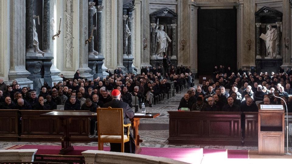 教宗叮囑聖職人員:在苦澀中接觸自己的人性,體嘗天父的慈悲