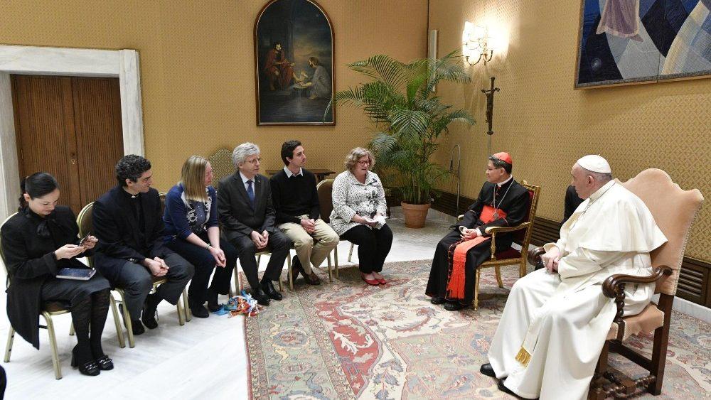 教宗儘管身體輕微不適,仍繼續他在梵蒂岡的活動