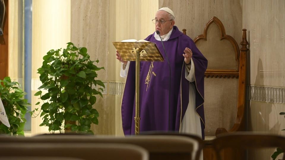 教宗:願無家可歸的人得到社會的救助、教會的接納