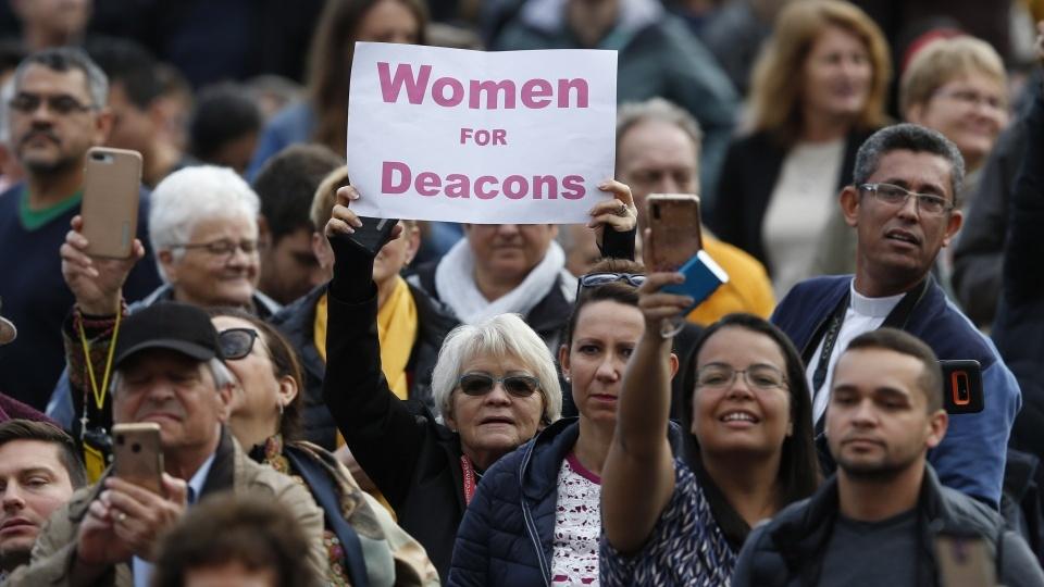 教宗成立新委員會研究祝聖女性執事可能性