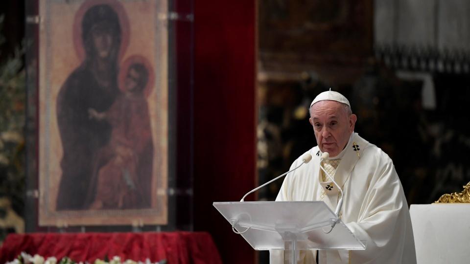 教宗主持主的晚餐彌撒:我不得不惦記眾司鐸
