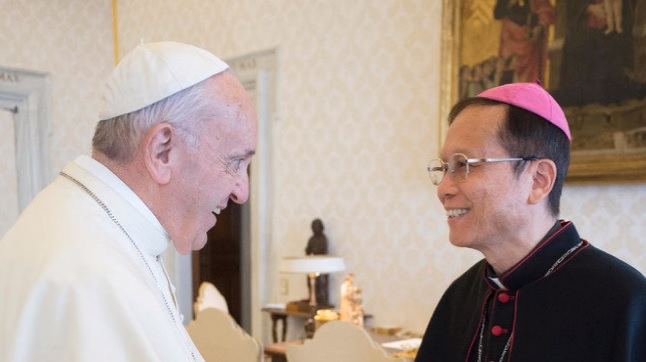 教宗任命嘉義教區鍾安住主教為台北總教區總主教