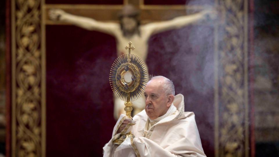 教宗聖體聖血節彌撒:聖體聖事醫治我們脆弱的記憶