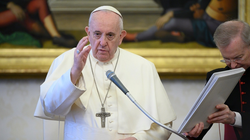 教宗公開接見:請為罪孽深重的人代禱而非譴責他們