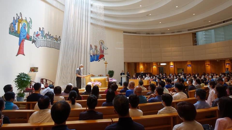 香港七一祈禱會:「主賜平安,不膽怯。」(若14:27)