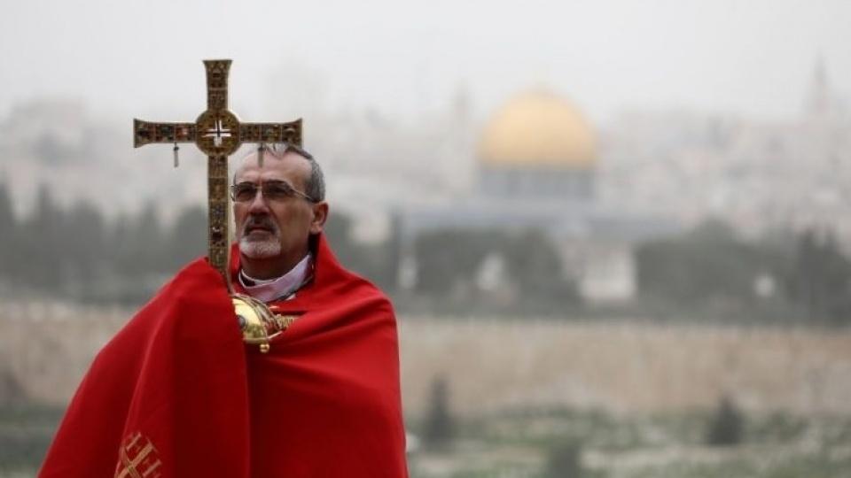 皮扎巴拉總主教帶來聖地在疫情持續下的最新近況