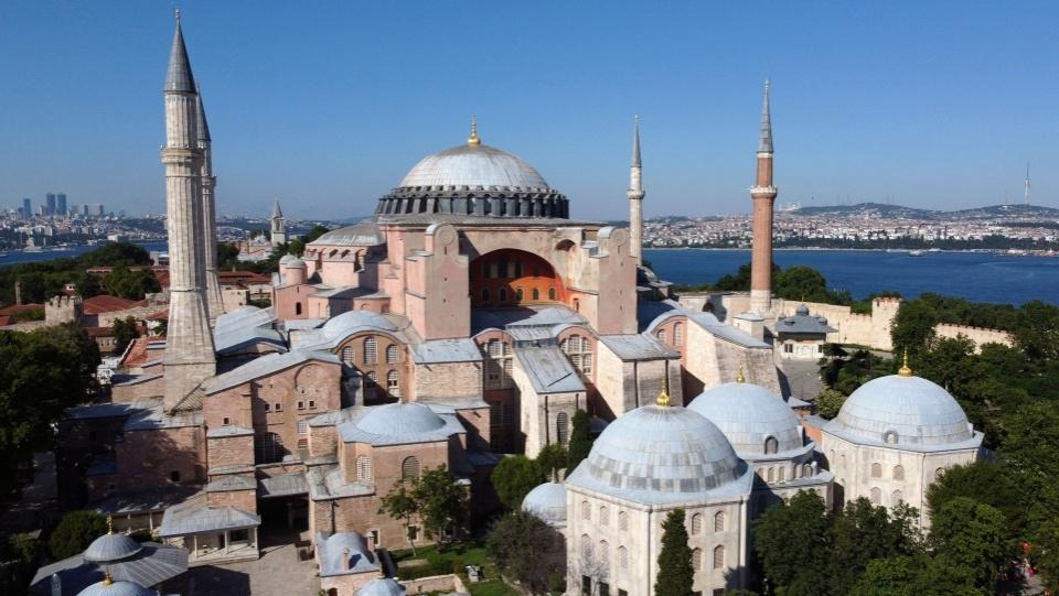 土耳其聖索菲亞大殿將被用作清真寺