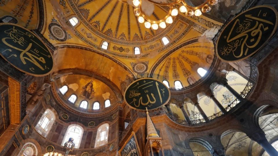 教宗為聖索菲亞大殿改作清真寺而感到痛心