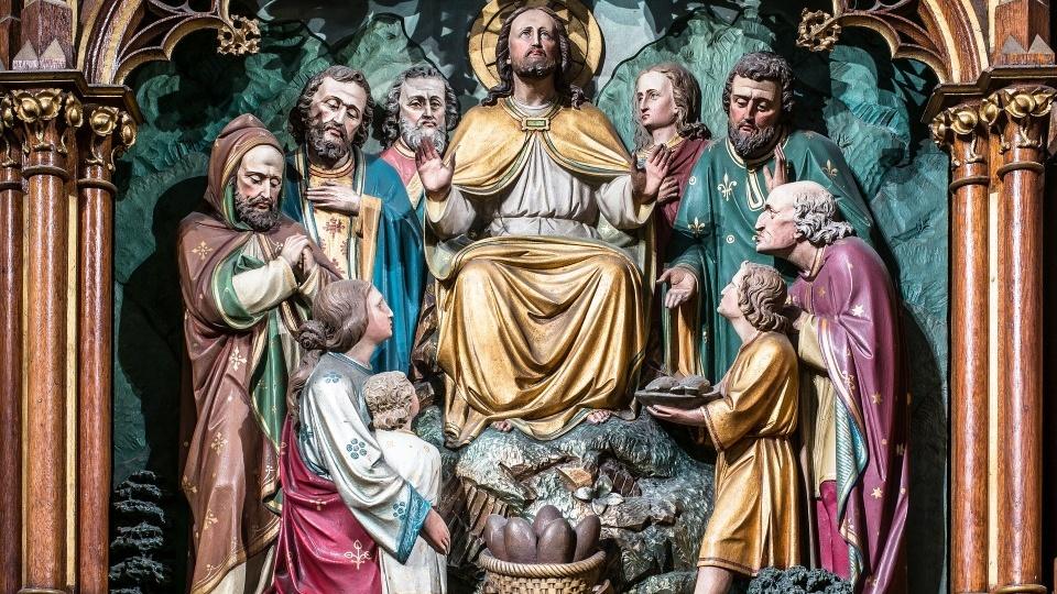 張心銳神父主日福音分享-常年期第十八主日