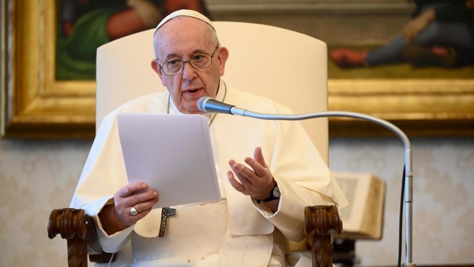 教宗公開接見:注視耶穌,以信德擁抱祂帶給我們的希望