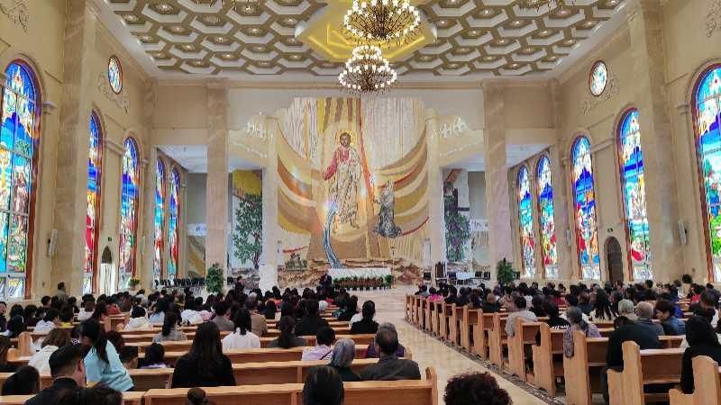 中國河北邯鄲(永年)教區主教座堂舉行落成啟用儀式