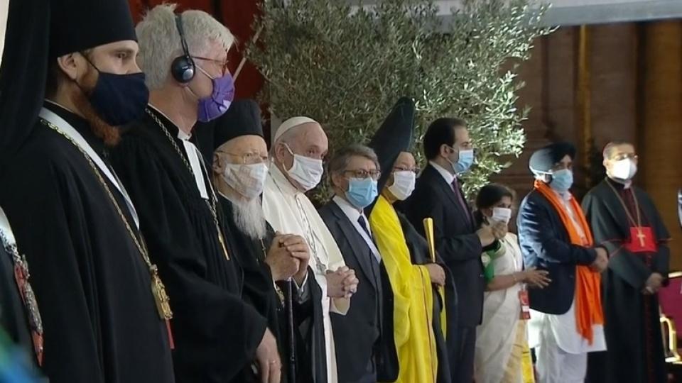 教宗:建立一個和平的世界,一人受害人人遭殃