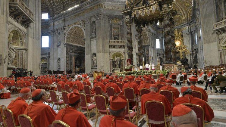 教宗宣布召開御前會議擢升13位新樞機