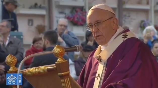 【鹽與光直播】教宗11月2日在梵蒂岡條頓墓園主持彌撒(英語旁白)