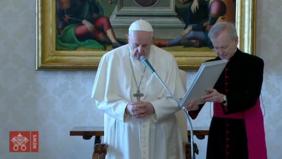 教宗公開接見:祈禱平息焦慮,向天主敞開心門