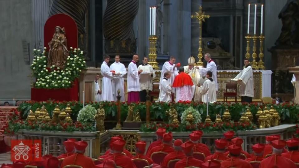 【鹽與光直播】教宗在御前會議擢升新樞機及翌日與新樞機舉行彌撒