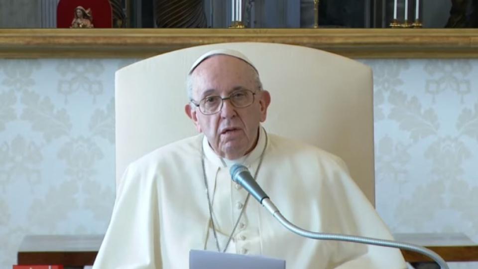 教宗公開接見:教會不是市場或政黨,而是聖神的工程