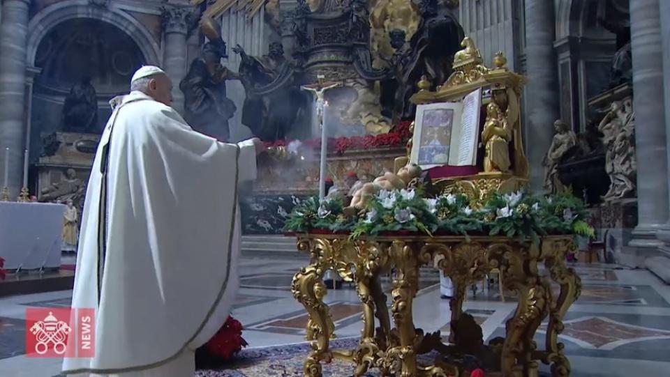教宗方濟各:朝拜天主是要發現藏身於平凡處境中的祂