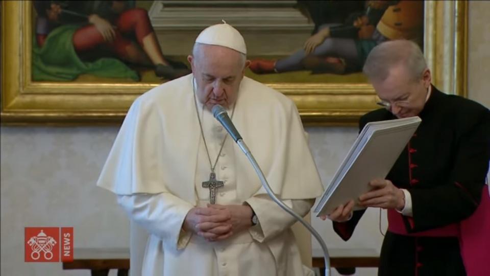 教宗公開接見:我們要祈禱,讓合一勝過衝突
