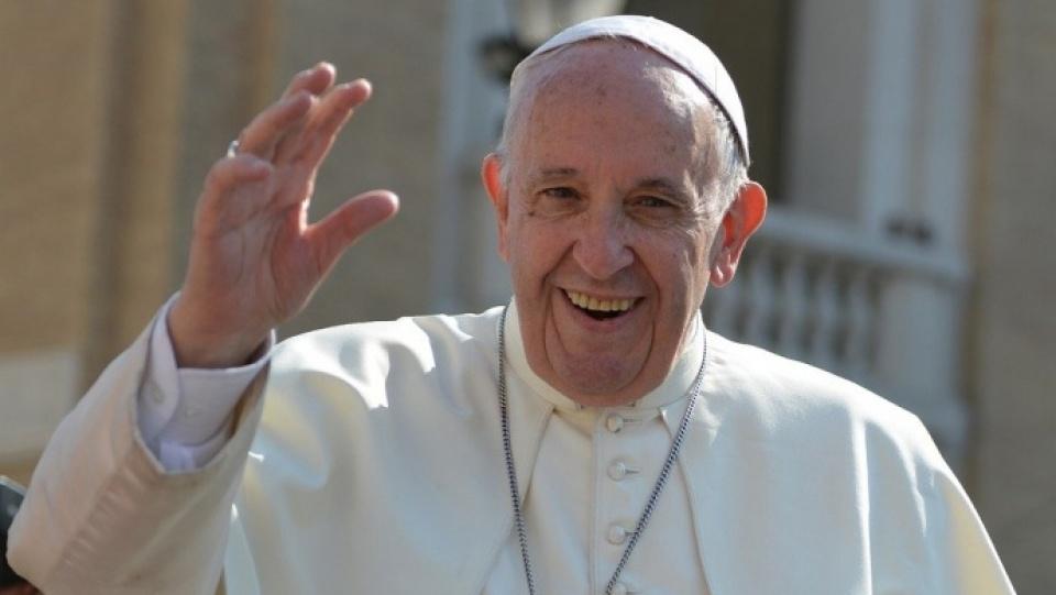教宗向世界各地慶祝農曆新年的人民致賀