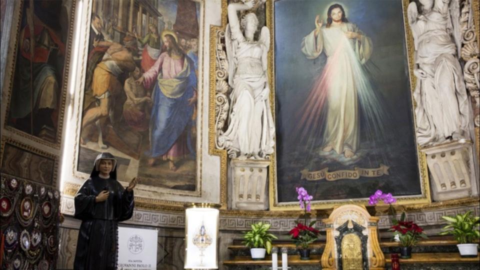 教宗方濟各:要讓耶穌慈悲的火焰在世界上傳播