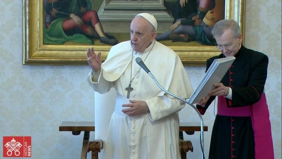 教宗公開接見:聖人在天鄉總是不斷地拉我們一把
