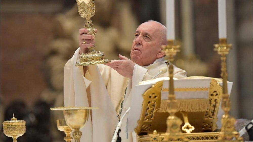 教宗方濟各主持復活主日彌撒