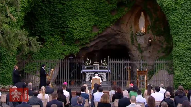 教宗將主持結束聖母月禮儀,懇求瑪利亞解開困擾人類的紐結