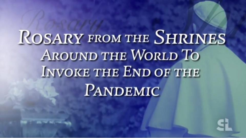 5月(聖母月)各朝聖地馬拉松式玫瑰經祈禱活動,《鹽與光》天天播放!
