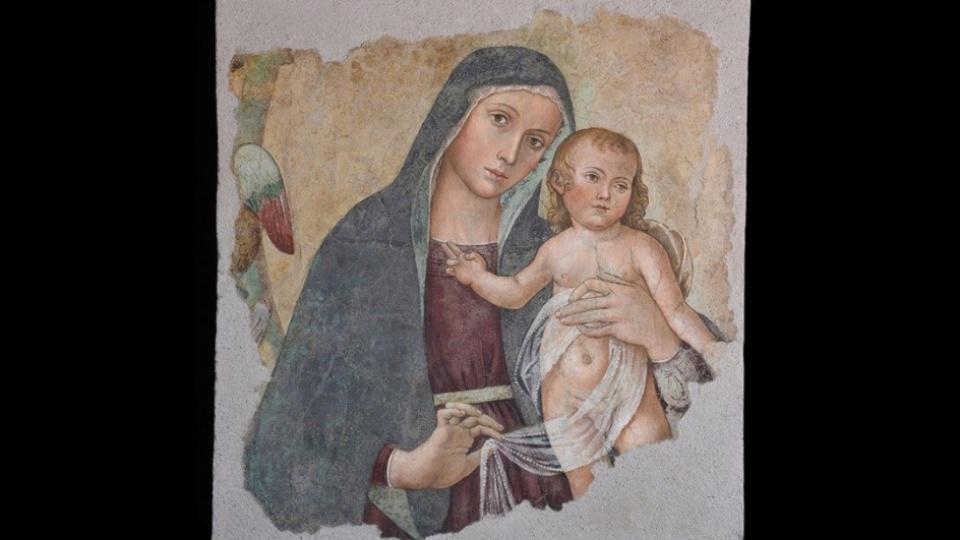 《產婦之母》畫像首次離開梵蒂岡,於5月14日起在都靈展出