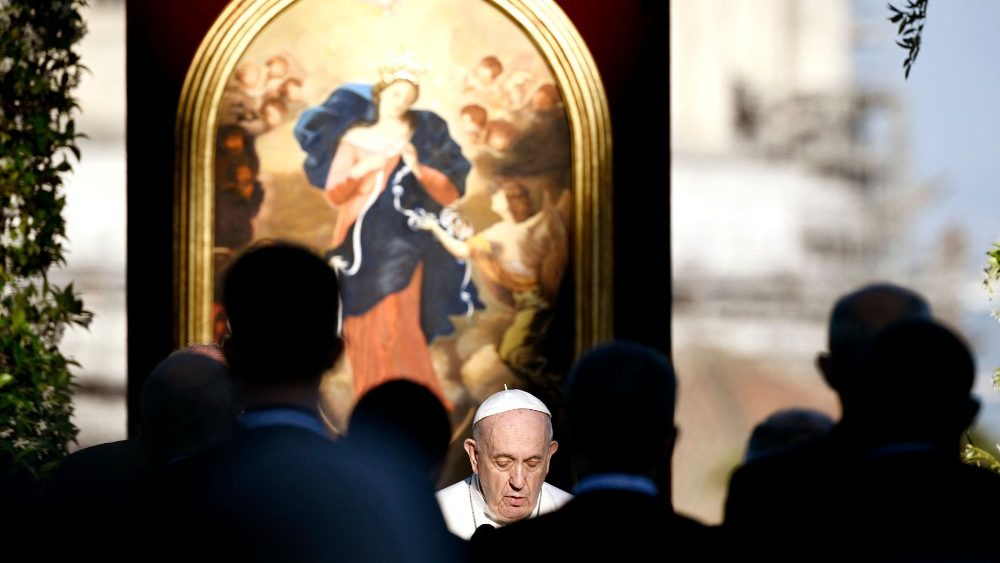 教宗祈願所有人盡快有機會接種疫苗