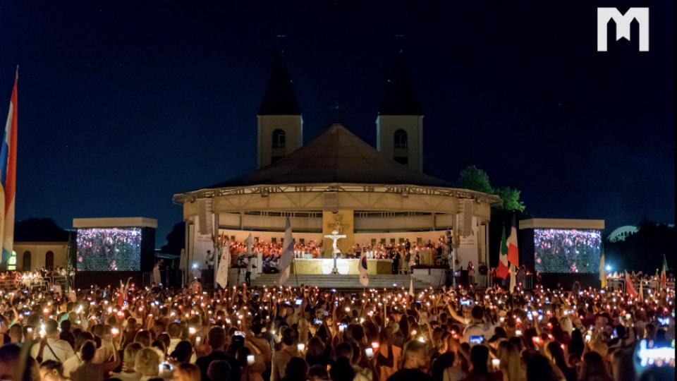 教宗致函默主哥耶青年節與會者:鼓起勇氣跟隨基督