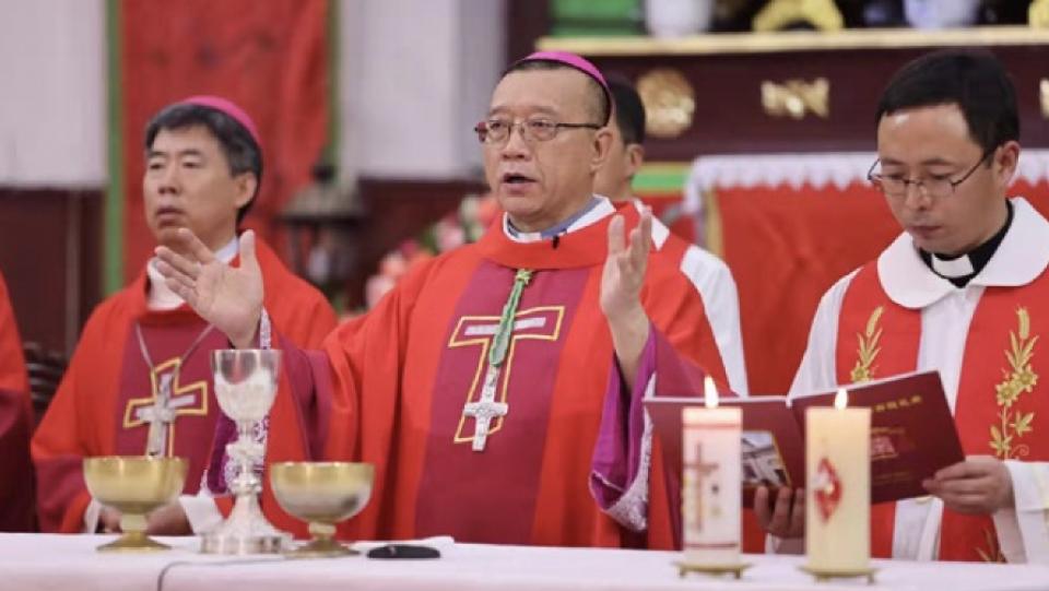 崔慶琪神父獲教宗任命為漢口/武漢的主教