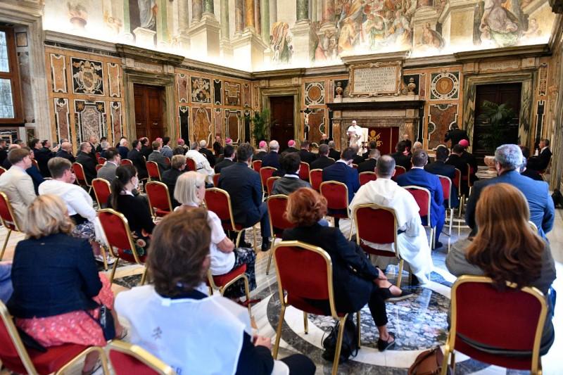 教宗勉勵要理教員為宣講福音找到新語言