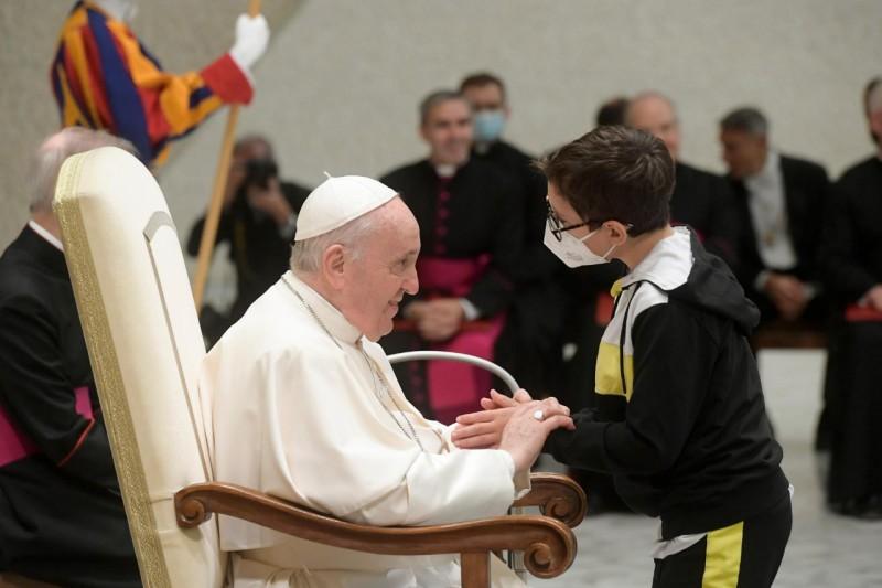 教宗公開接見:自由源自天主的愛,在愛德中增長