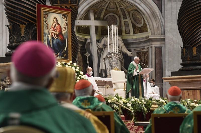 教宗開啟世界主教代表會議進程:這是恩寵的事件,而非教務會議
