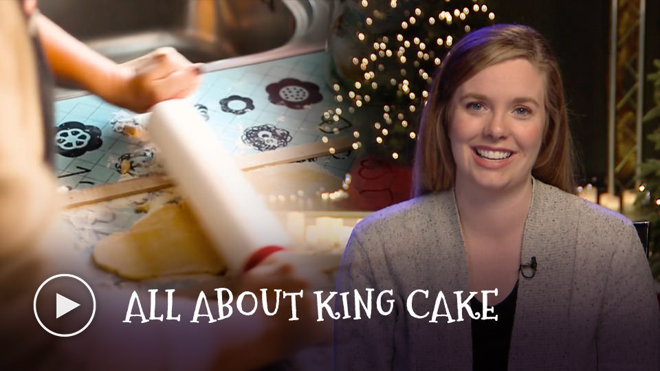 All about King Cake - watch now button